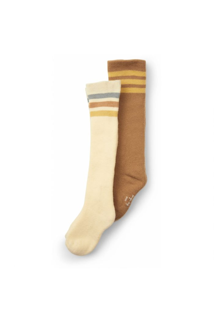 Konges Sløjd 2 Pack Long Socks Breen/Lemon Sorbet_1