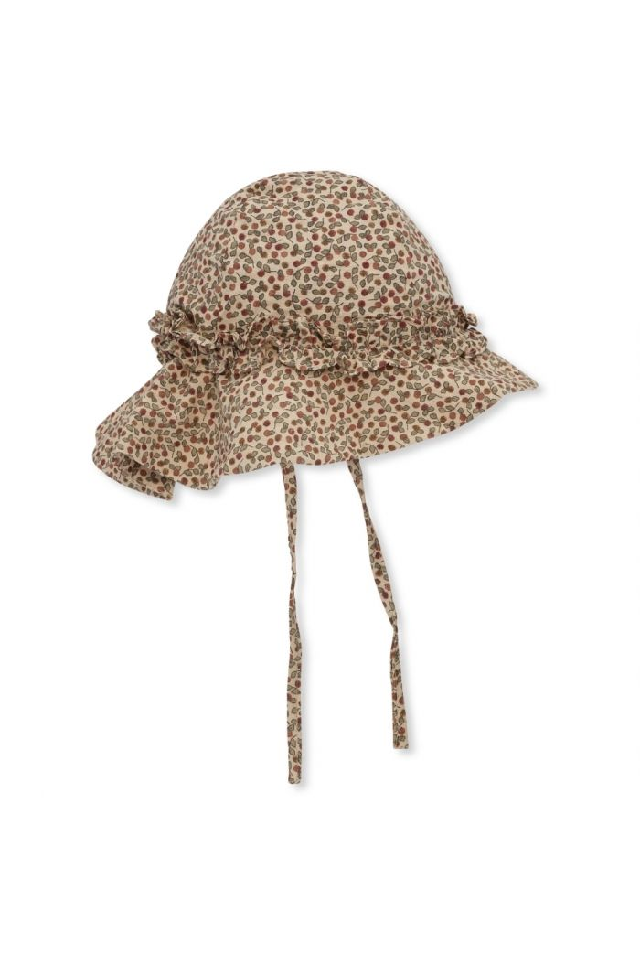 Konges Sløjd Acacia Baby Sunhat Rosarie-Red_1