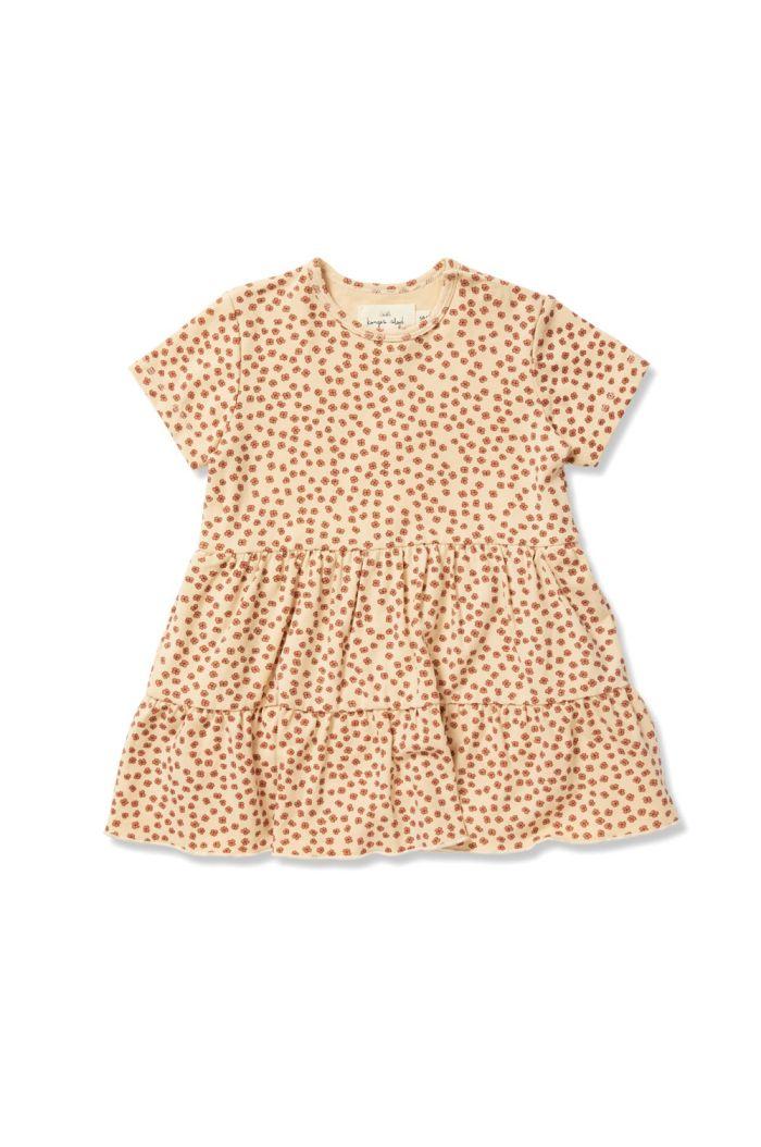 Konges Sløjd Reya Tee Dress Buttercup-Rosa_1