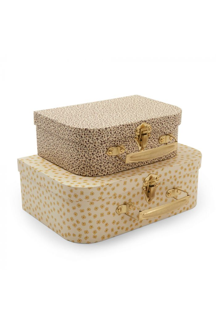 Konges Sløjd 2 Pack Luggage Buttercup Yellow/Rosarie_1
