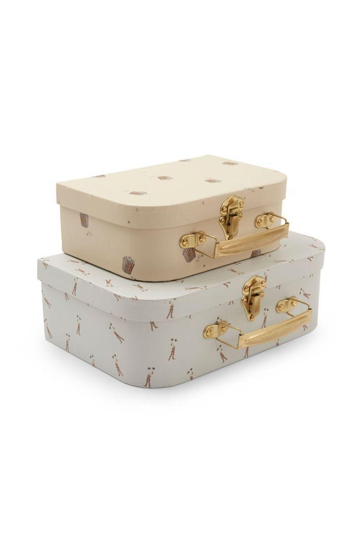 Konges Sløjd 2 Pack Luggage Strong Man/Popcorn_1