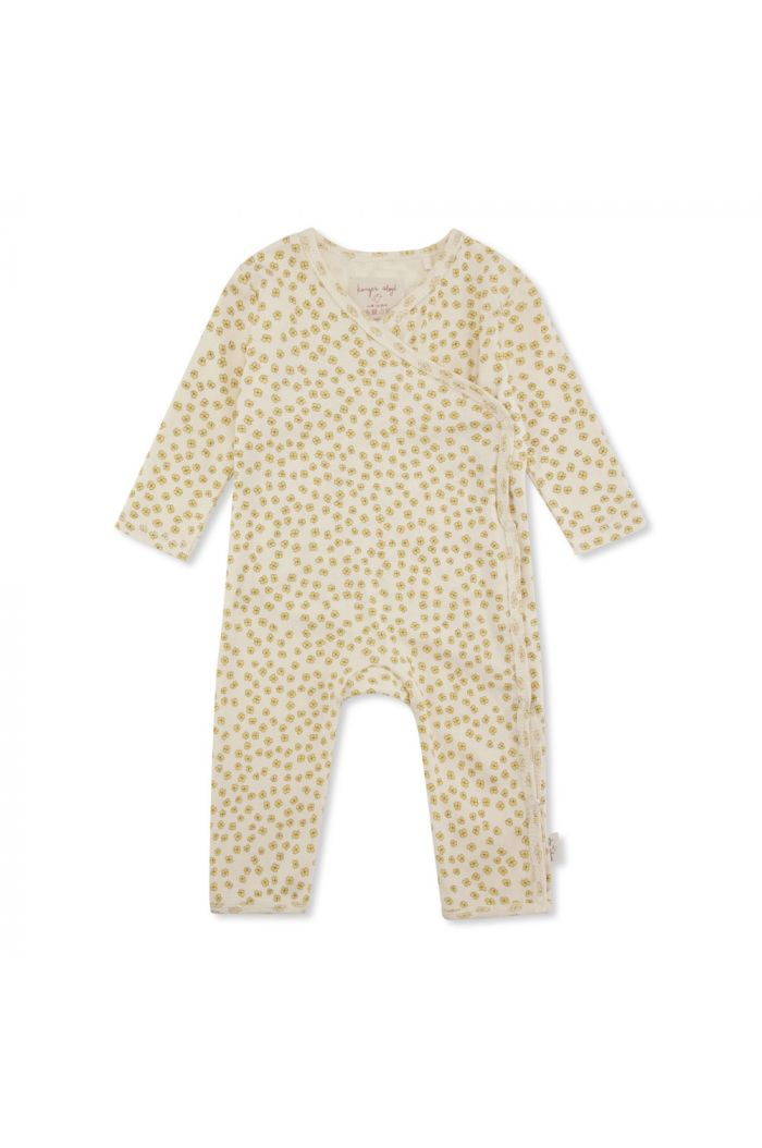 Konges Sløjd New Born Onesie Buttercup Yellow_1