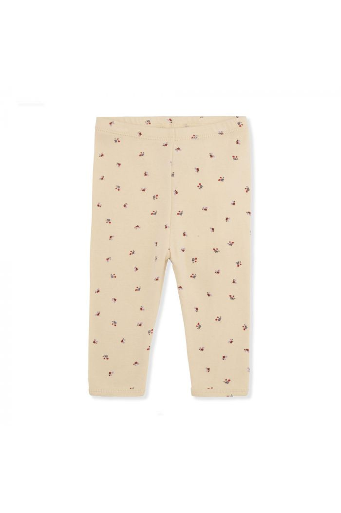 Konges Sløjd New Born Pants Bloom Red/Blue_1