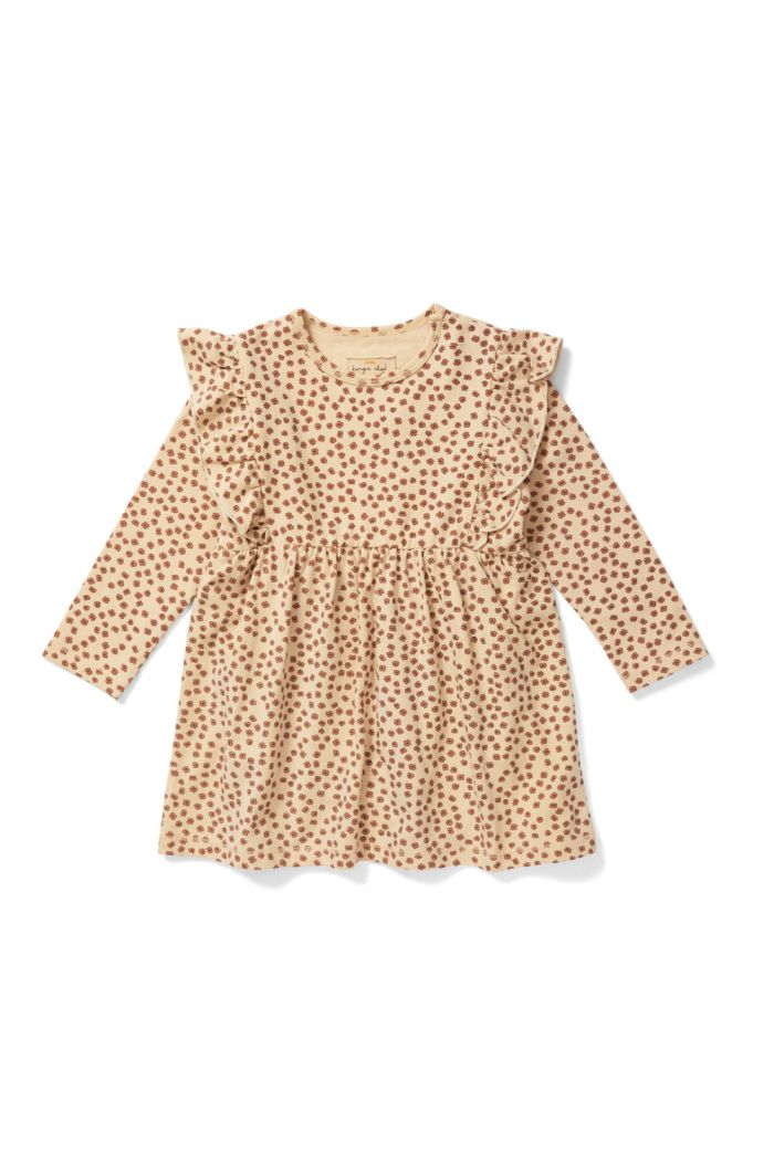 Konges Sløjd Basic Dress Buttercup-Rosa_1
