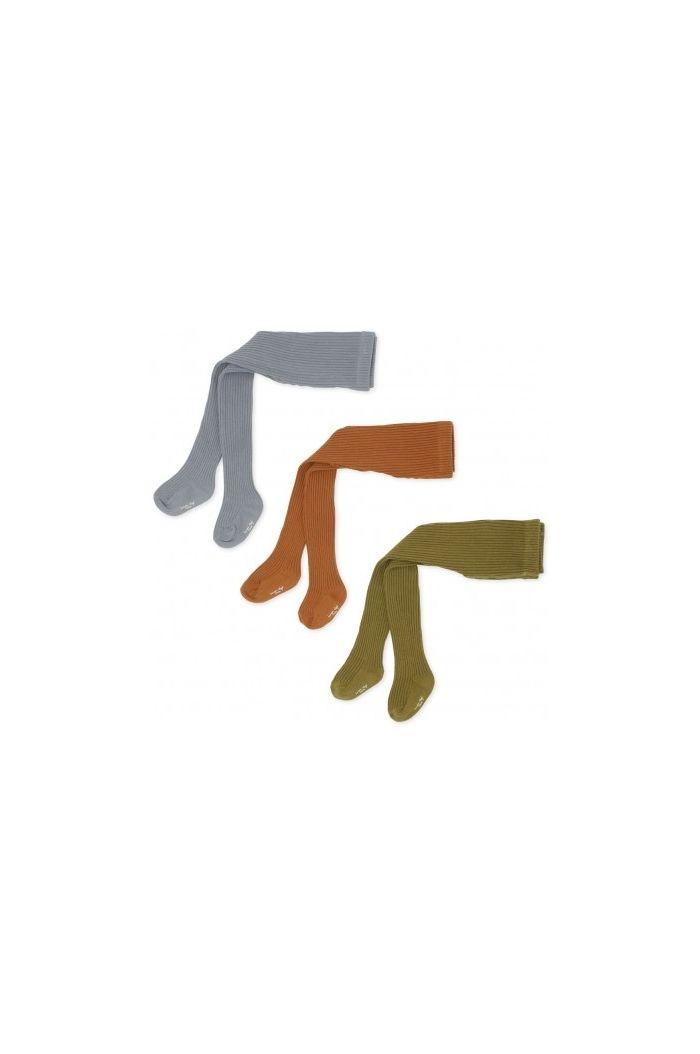 Konges Sløjd 3 X Rib Stockings Tigers Eye_1