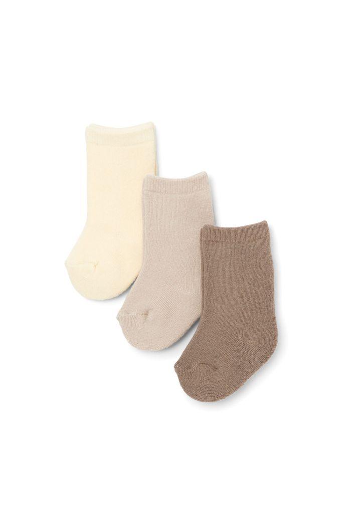 Konges Sløjd 3 Pack Terry Socks Mellow Marsmellow_1