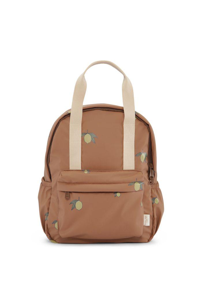 Konges Sløjd Rain Kids Backpack Mini Deux Lemon Brown