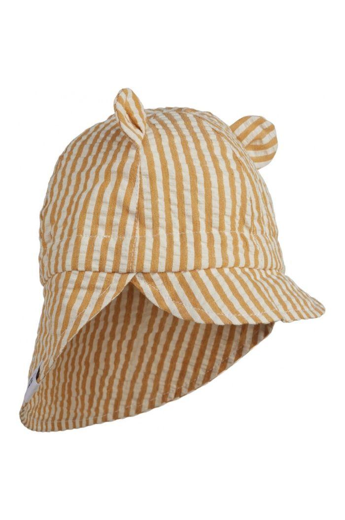 Liewood Gorm sun hat Mustard / white