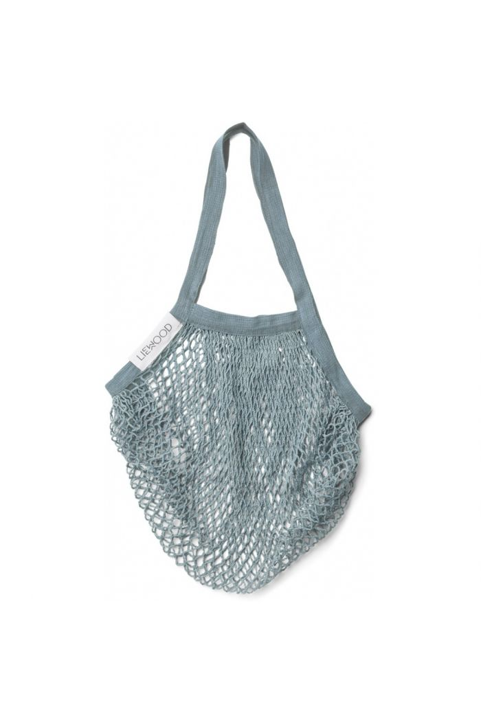 Liewood Mesi Mesh Tote Bag Sea Blue