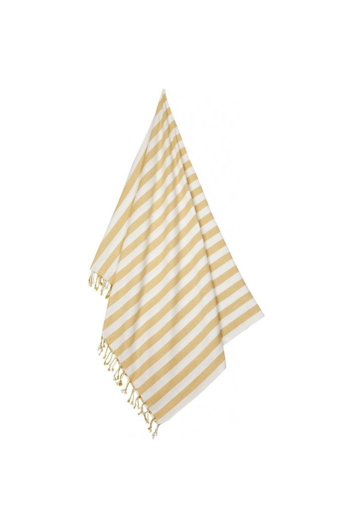 Liewood Mona Beach Towel 2908 Yellow mellow/creme de la creme