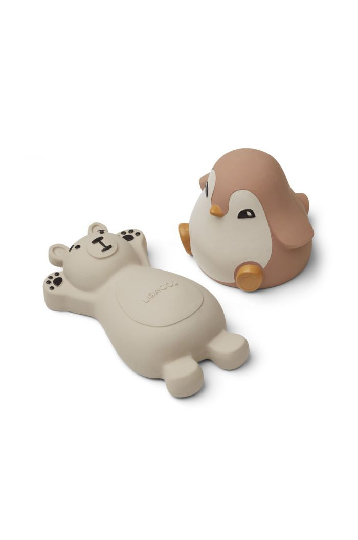 Liewood Knud bath toys - 2 pack Rose Mix_1