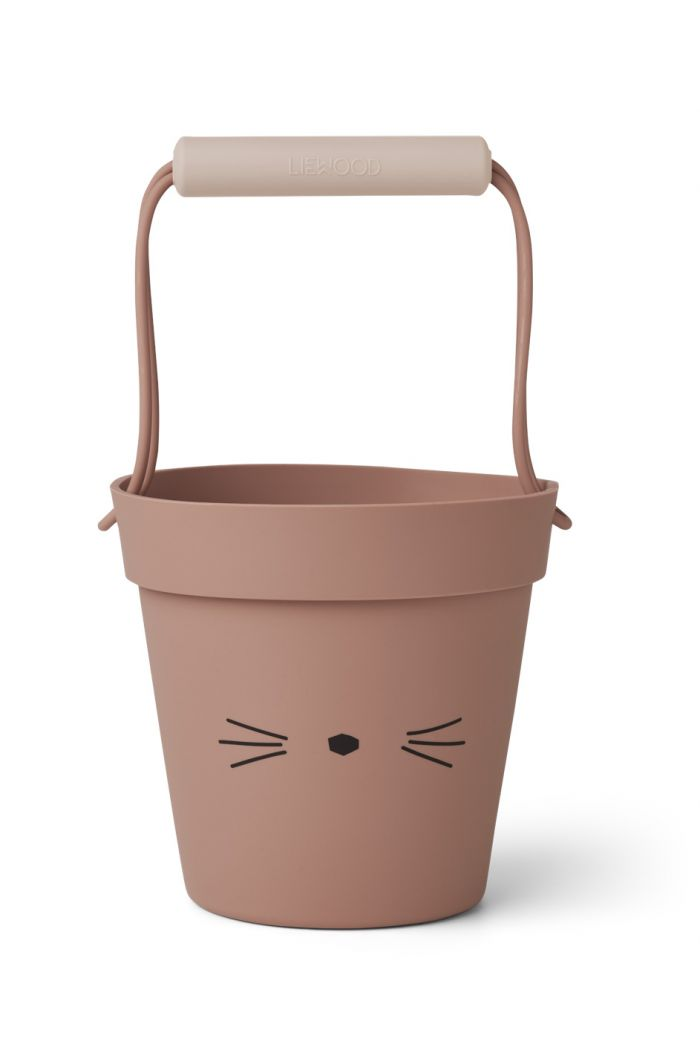 Liewood Linda bucket Cat dark rose mix_1