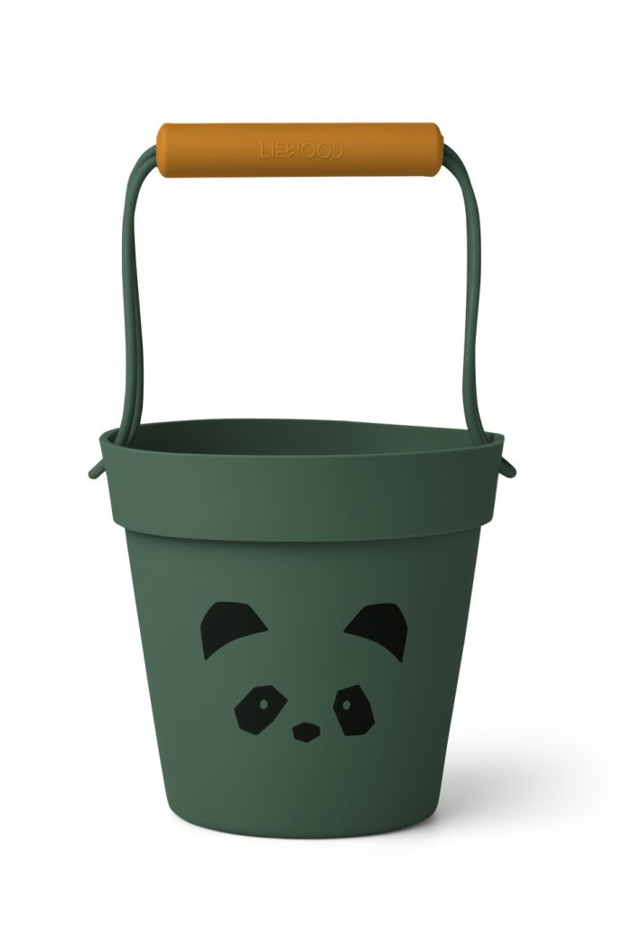 Liewood Linda bucket Panda garden green mix_1