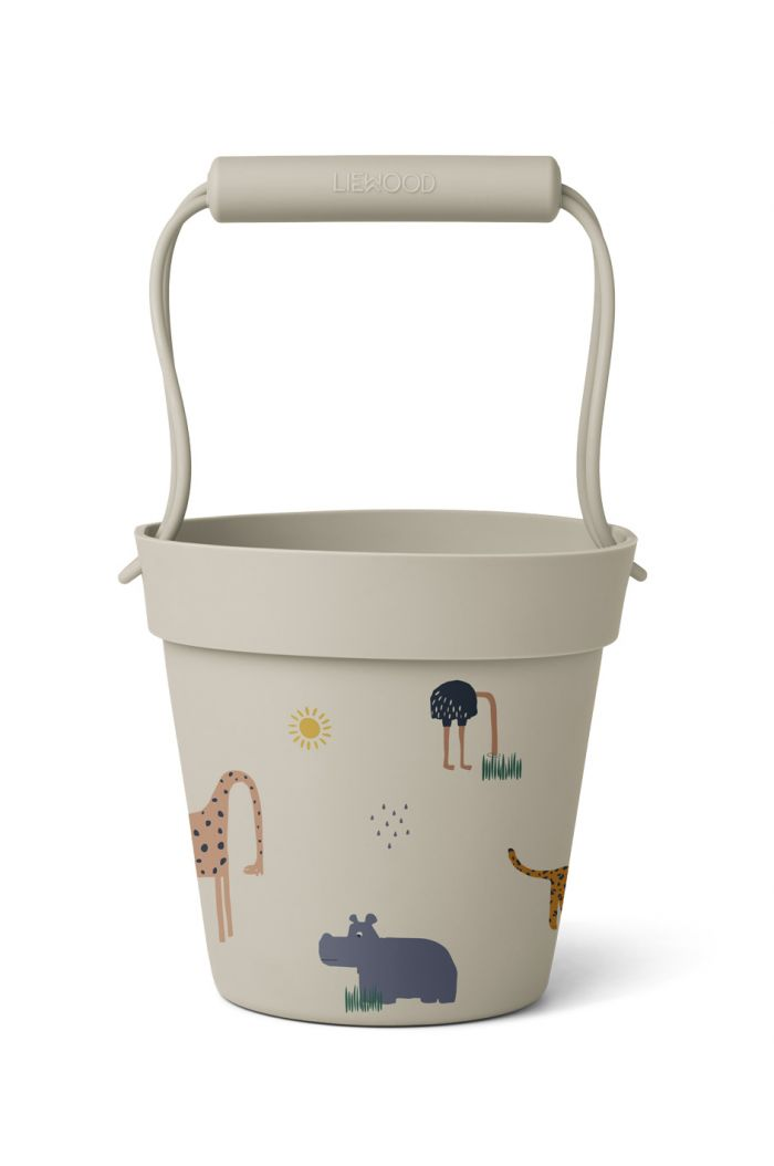Liewood Linda bucket Safari sandy mix_1
