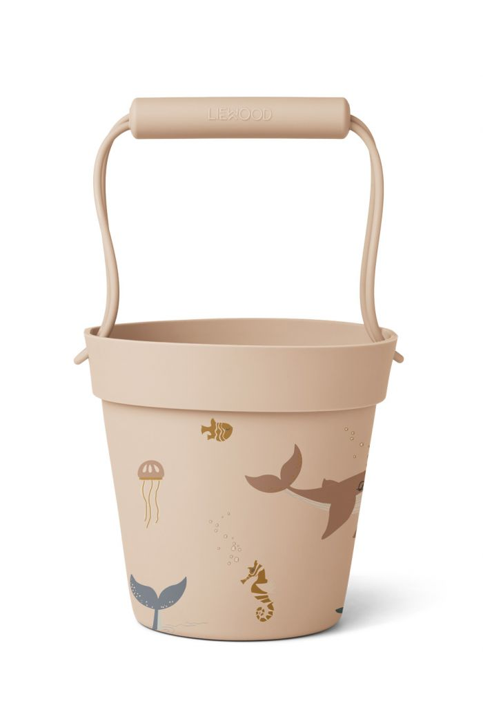 Liewood Linda bucket Sea creature rose mix_1