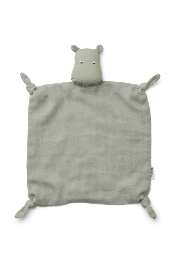 Liewood Agnete cuddle cloth Hippo Dove blue_1