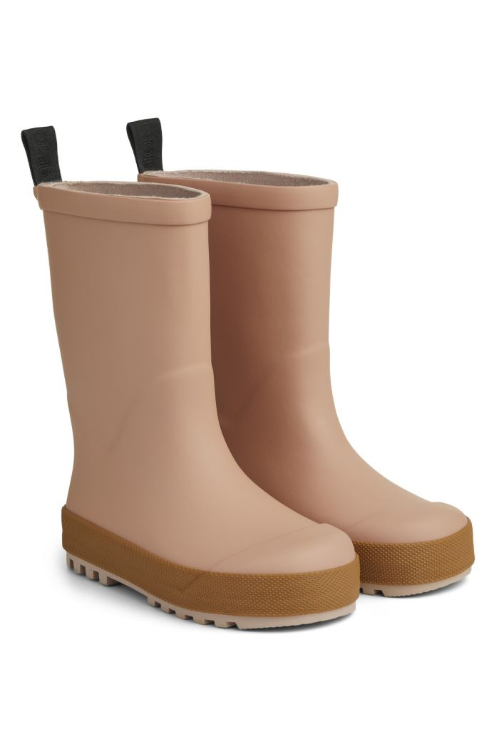 Liewood River Rain Boot Dark rose/Mustard mix_1