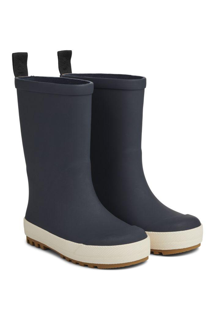 Liewood River Rain Boot Navy/Creme de la creme mix_1
