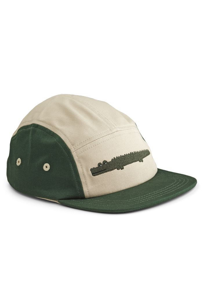 Liewood Rory Cap Crocodile Garden Green Mix_1