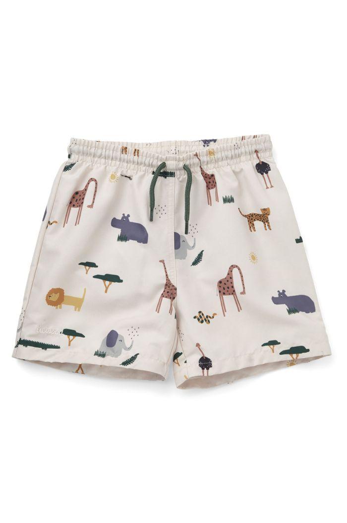 Liewood Duke board shorts Safari sandy mix_1
