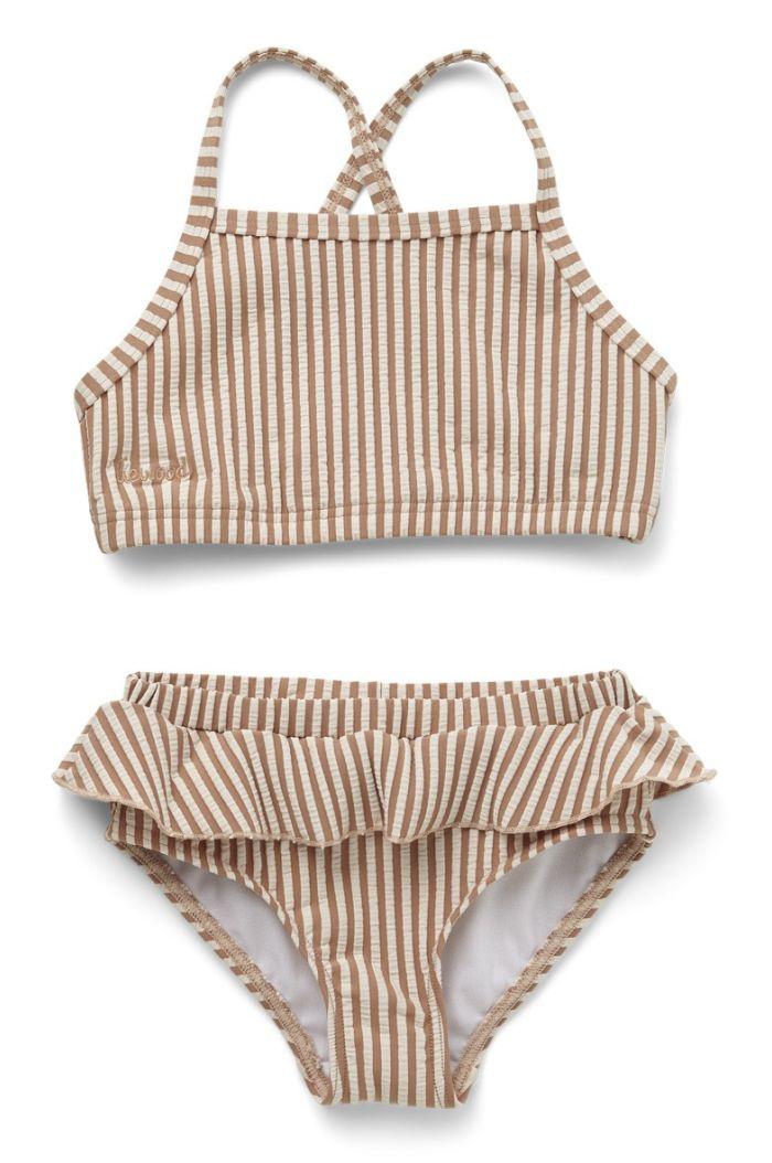 Liewood Norma bikini set seersucker Y/D stripe: Tuscany rose/sandy_1