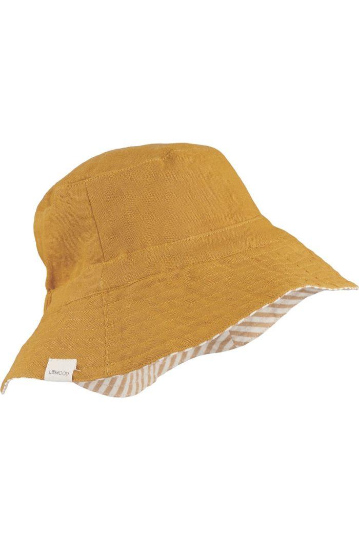 Liewood Buddy bucket hat Mustard_1