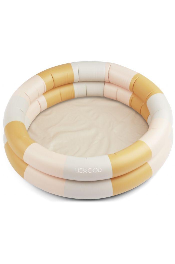 Liewood Leonore pool Stripe: Peach/sandy/yellow mellow_1
