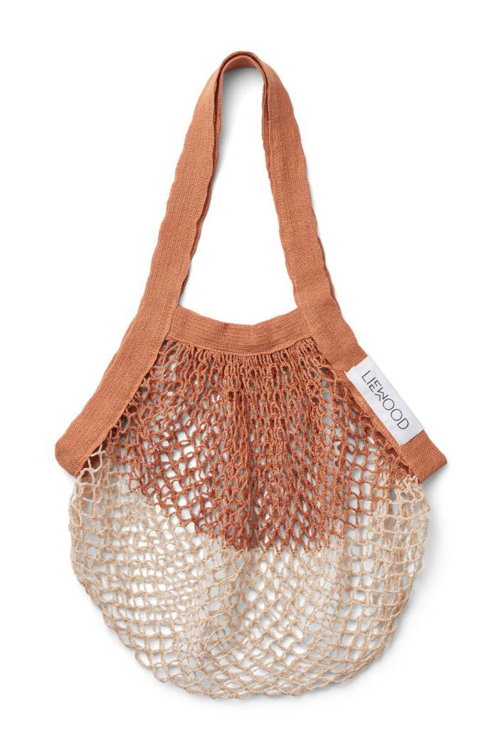 Liewood Aldo mesh tote bag Tuscany rose/sandy mix_1