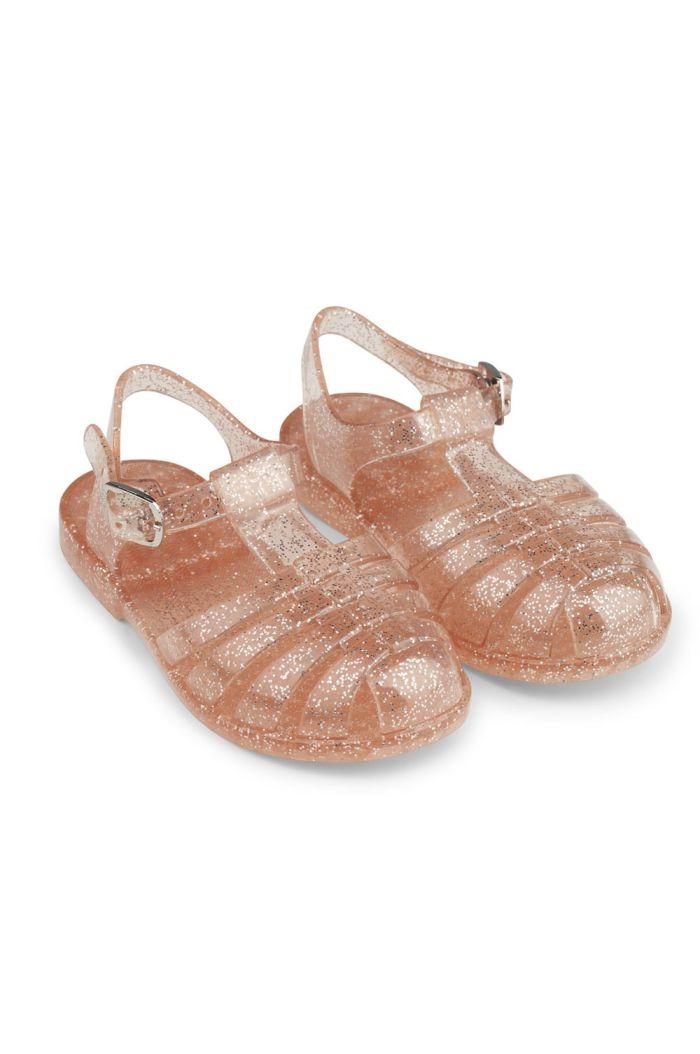 Liewood Bre Sandals Glitter peach_1