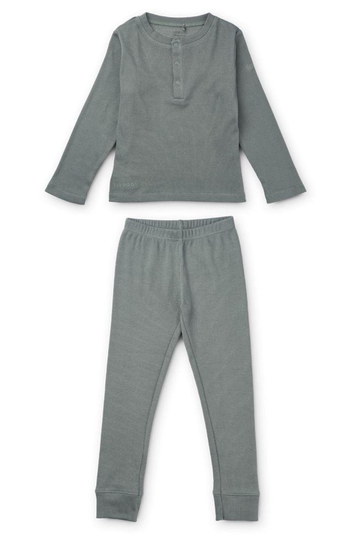 Liewood Wilhelm pyjamas set Blue fog_1