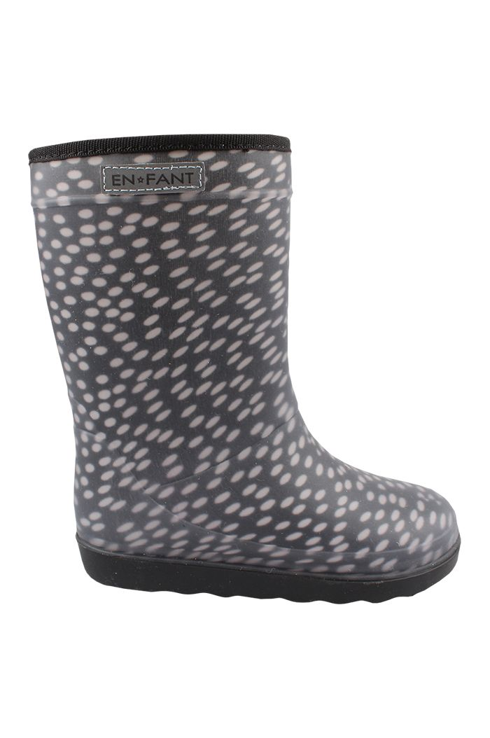 En Fant Thermo Boots Black dots