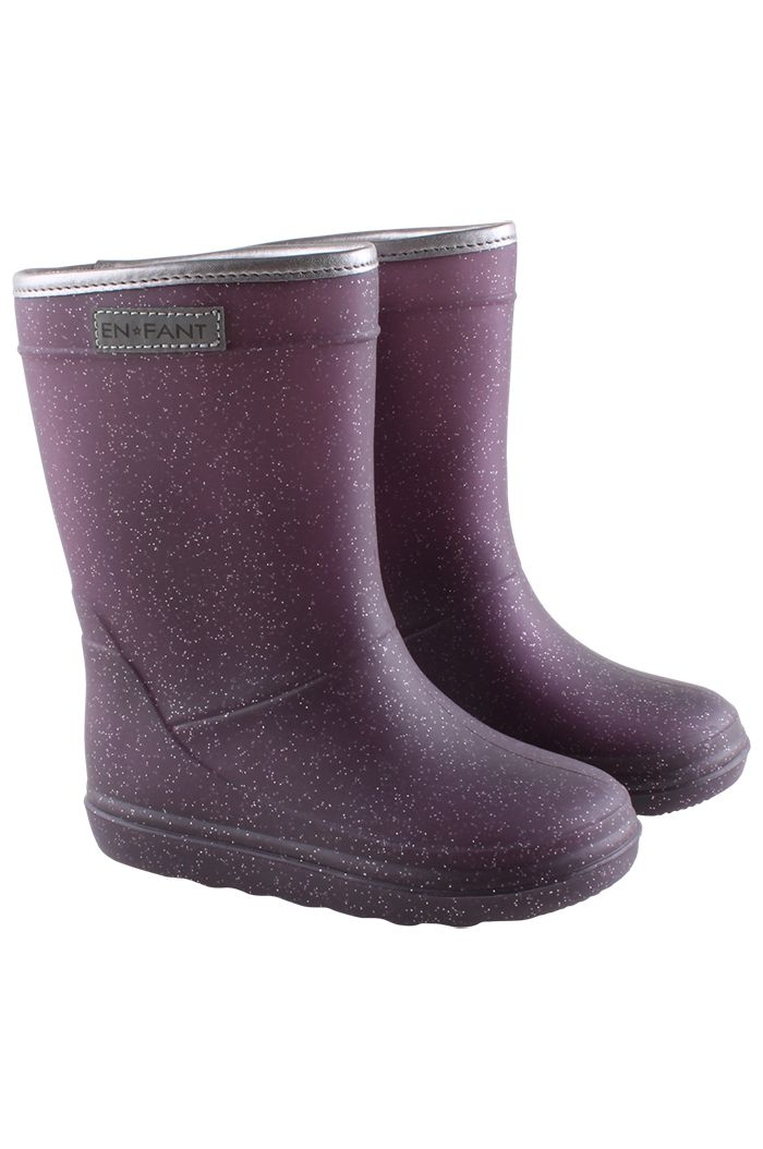 En Fant Thermo Boots Metallic purple