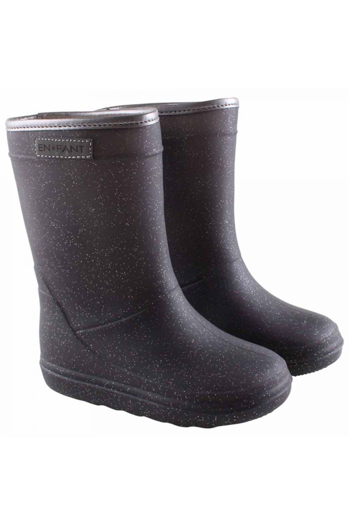 En Fant Thermo Boots Metallic grey_1
