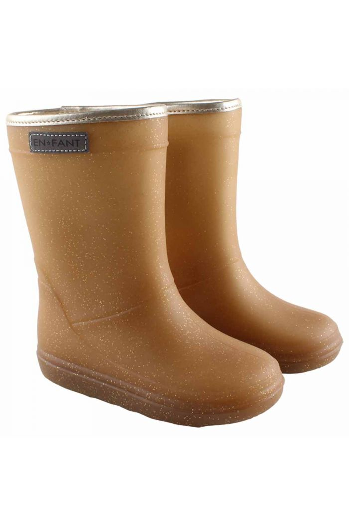 En Fant Thermo Boots Metallic gold_1