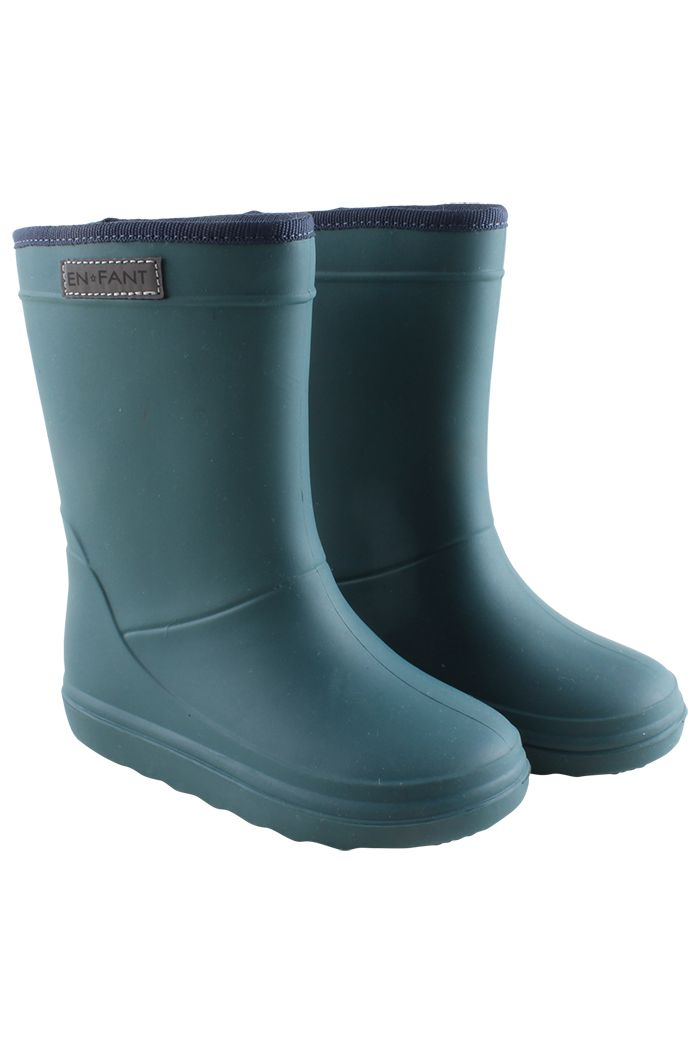 En Fant Thermo Boots Dark green_1