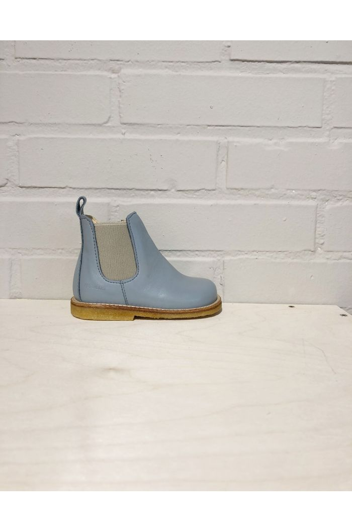 Angulus Starter chelsea boot with elastic and zipper Blue Grey/Beige_1