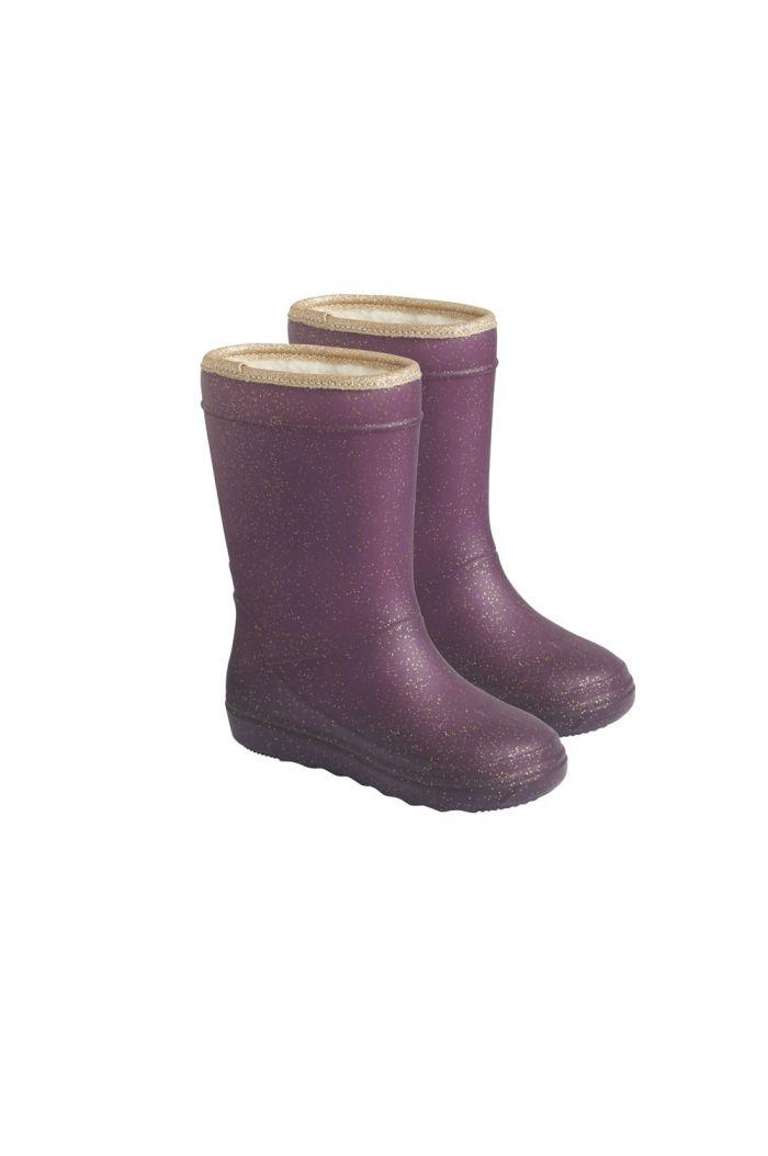 En Fant Thermo Boots Glitter 4031 Vineyard Wine_1