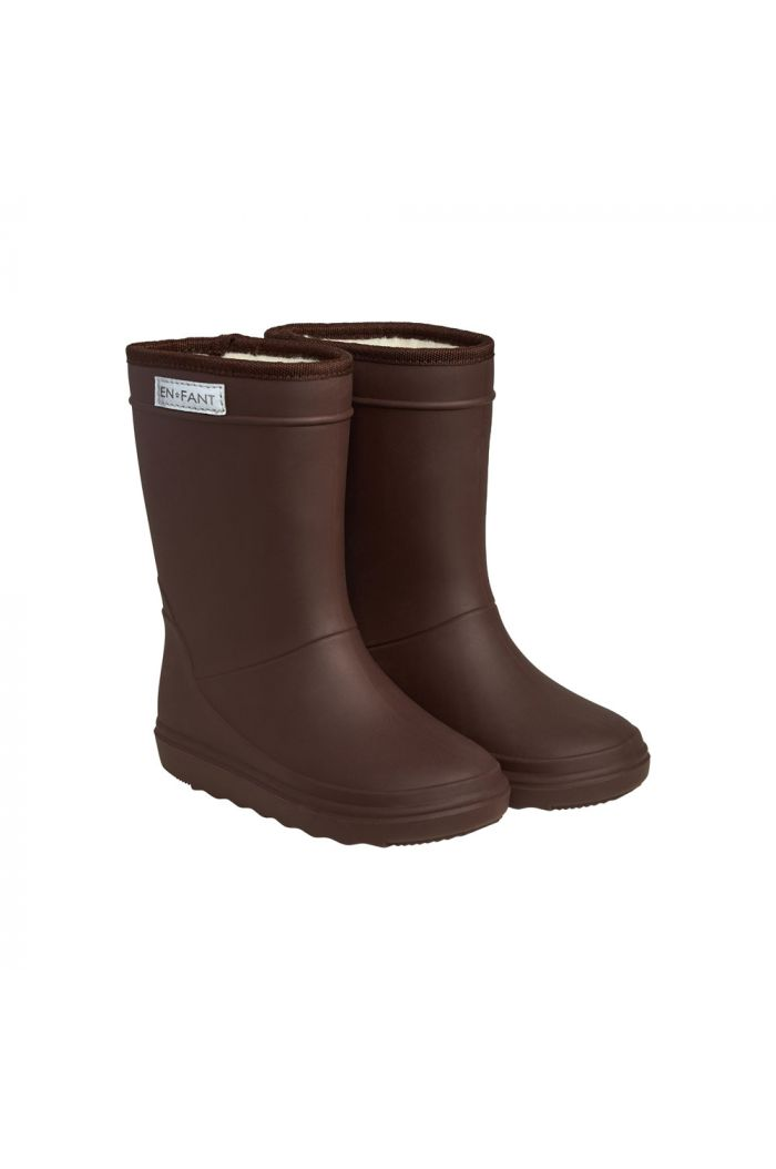 En Fant Thermo Boots Solid 2275 Dark Brown_1