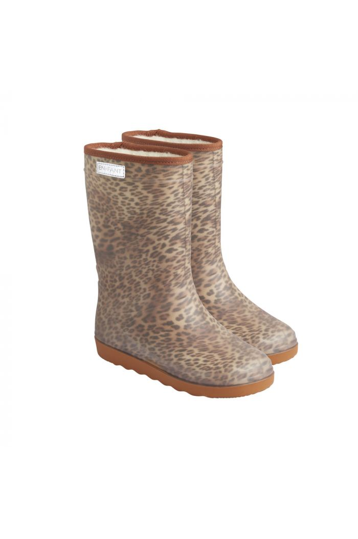 En Fant Thermo Boots Print 2145 Sand Leo_1