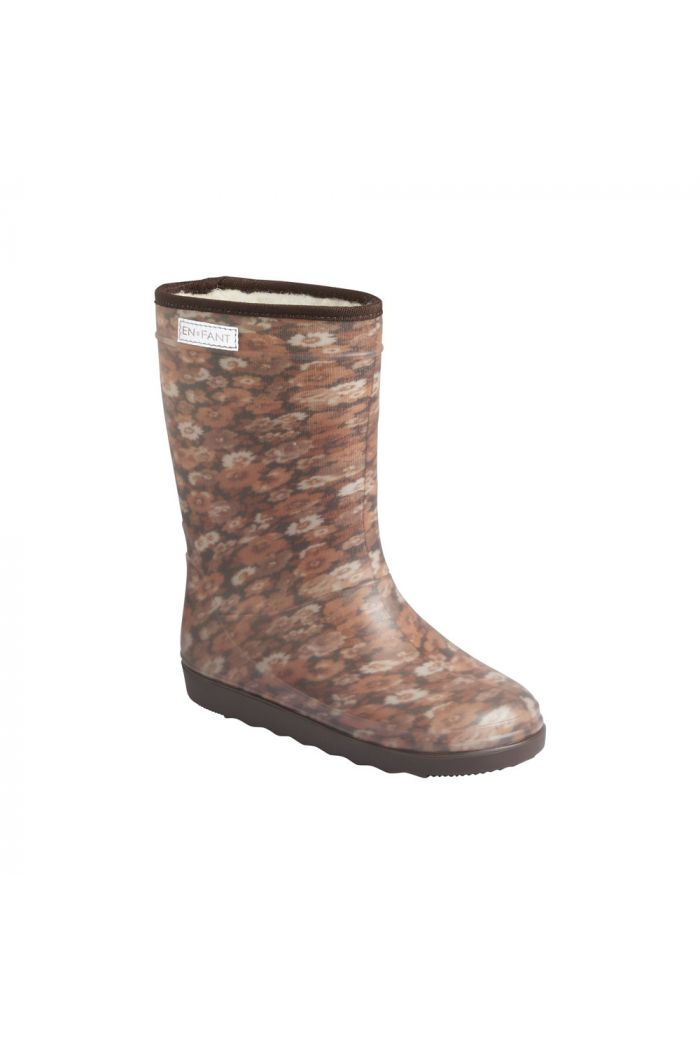En Fant Thermo Boots Print 2218 Chestnut_1