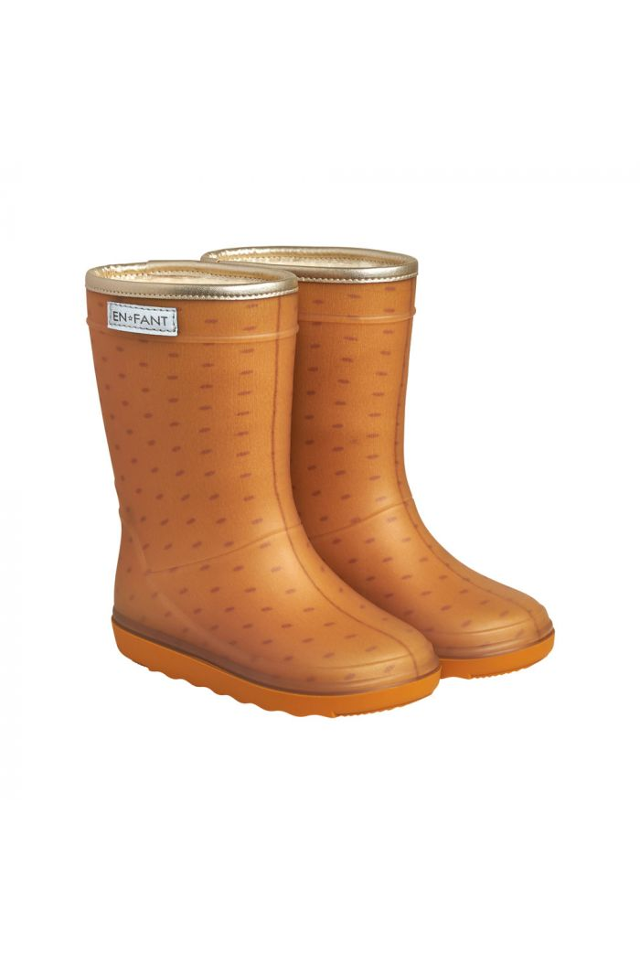 En Fant Thermo Boots Print 3661 Inca Gold_1