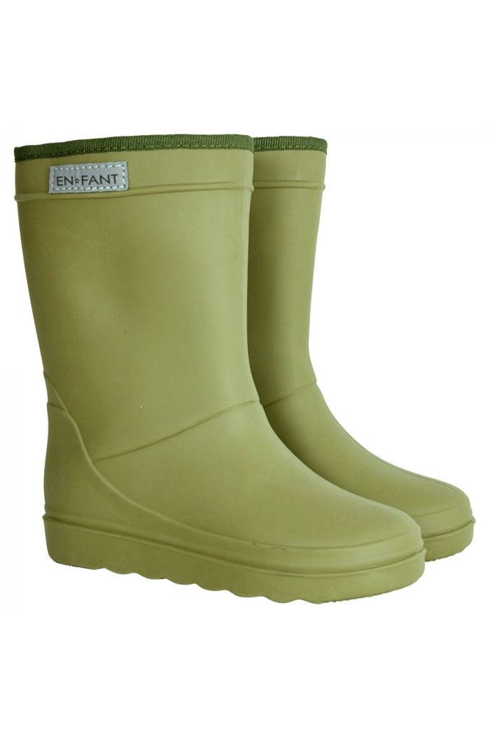 En Fant Thermo Boots Olive_1