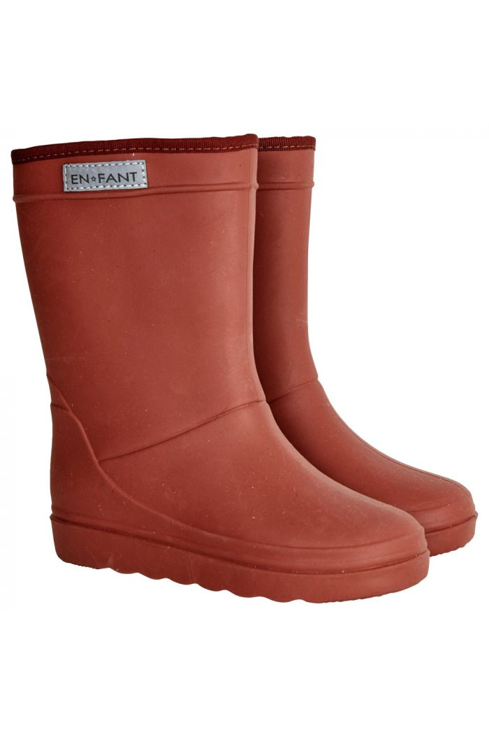 En Fant Thermo Boots Wine_1