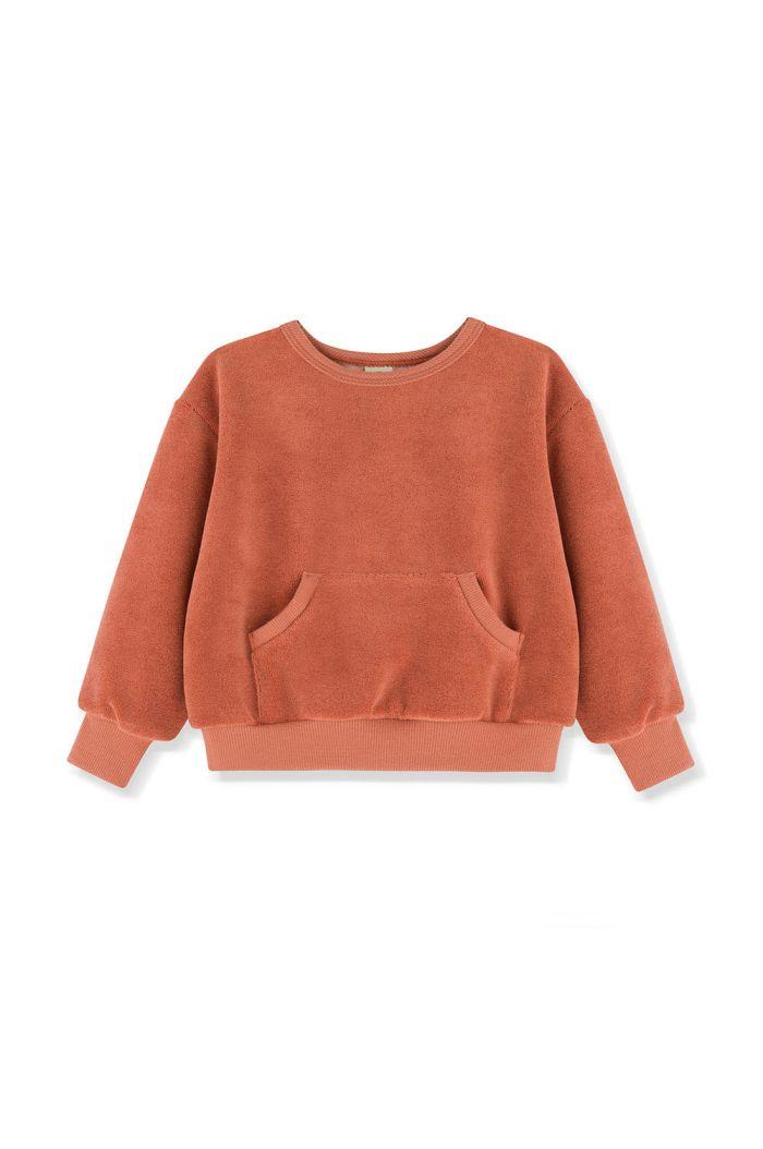 Kids on the Moon Sweatshirt Amber_1