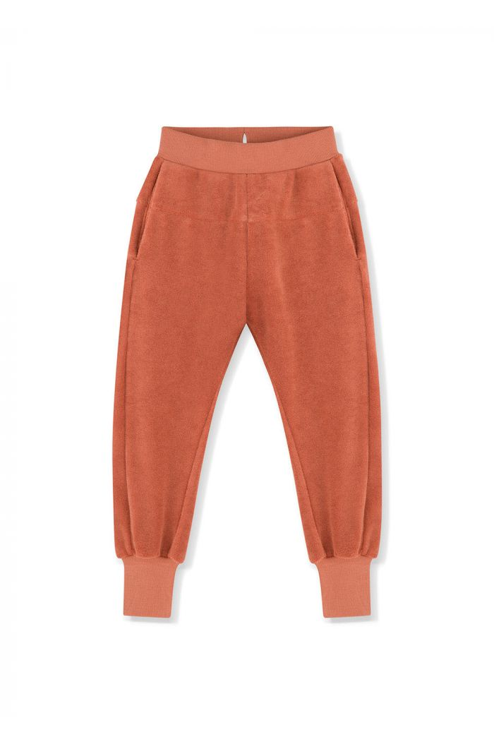 Kids on the Moon Sweatpants Amber_1