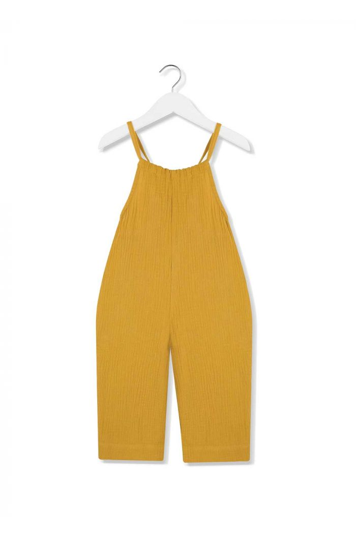 Kids on the Moon jumpsuit sunglow
