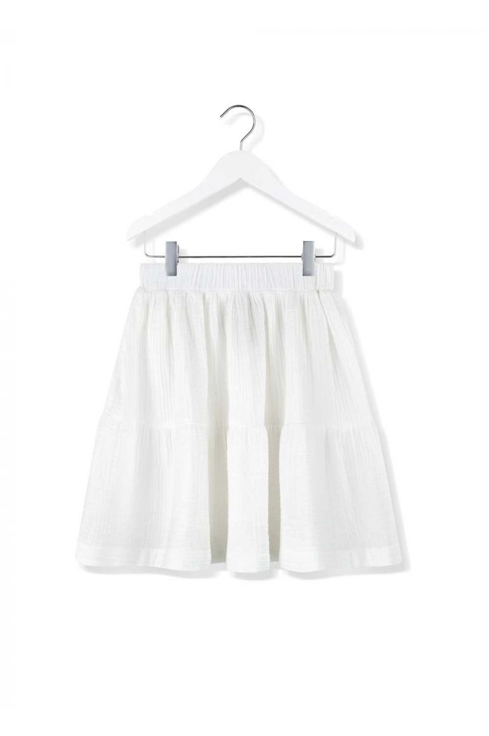 Kids on the Moon skirt cloud dancer cascade