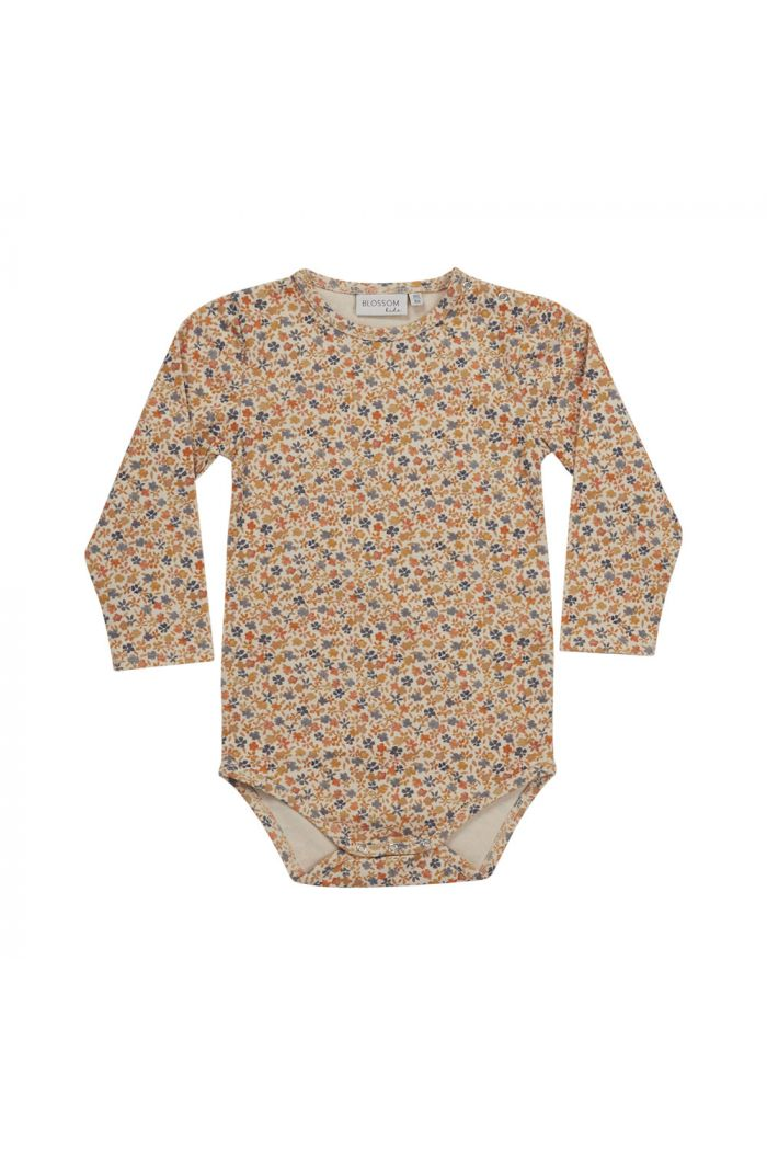 Blossom Kids Body long sleeve Aquarel Flower_1
