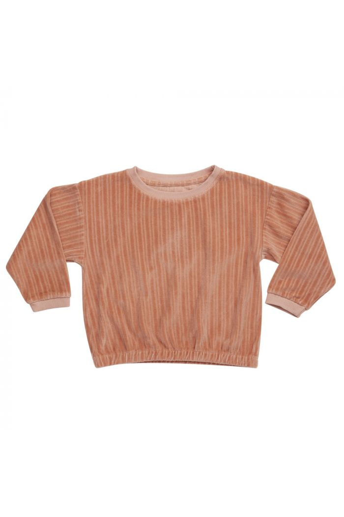 Blossom Kids Cropped Jumper Pastel Peach_1