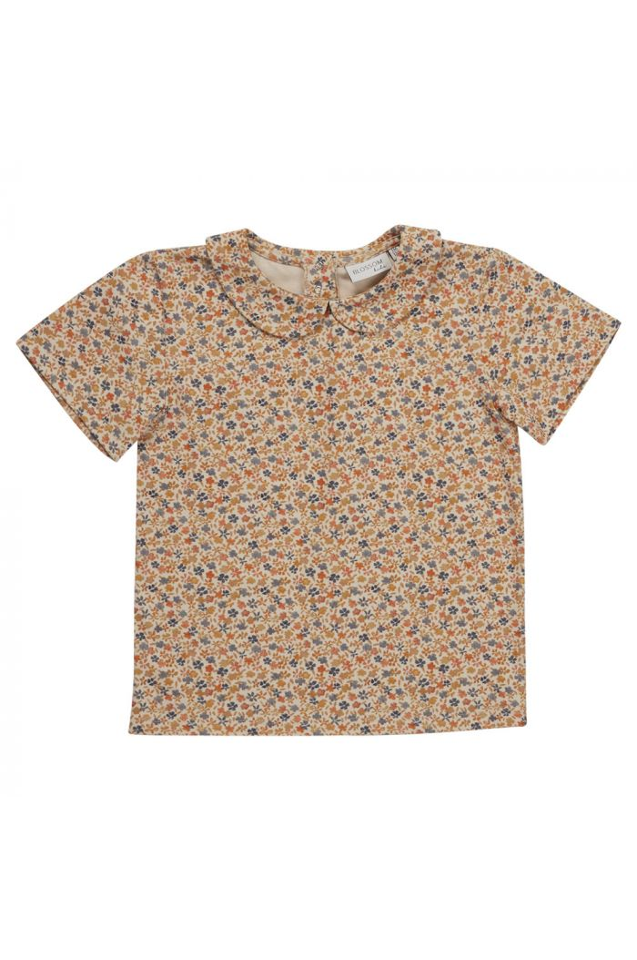 Blossom Kids Peterpan shirt short sleeve Aquarel Flower_1